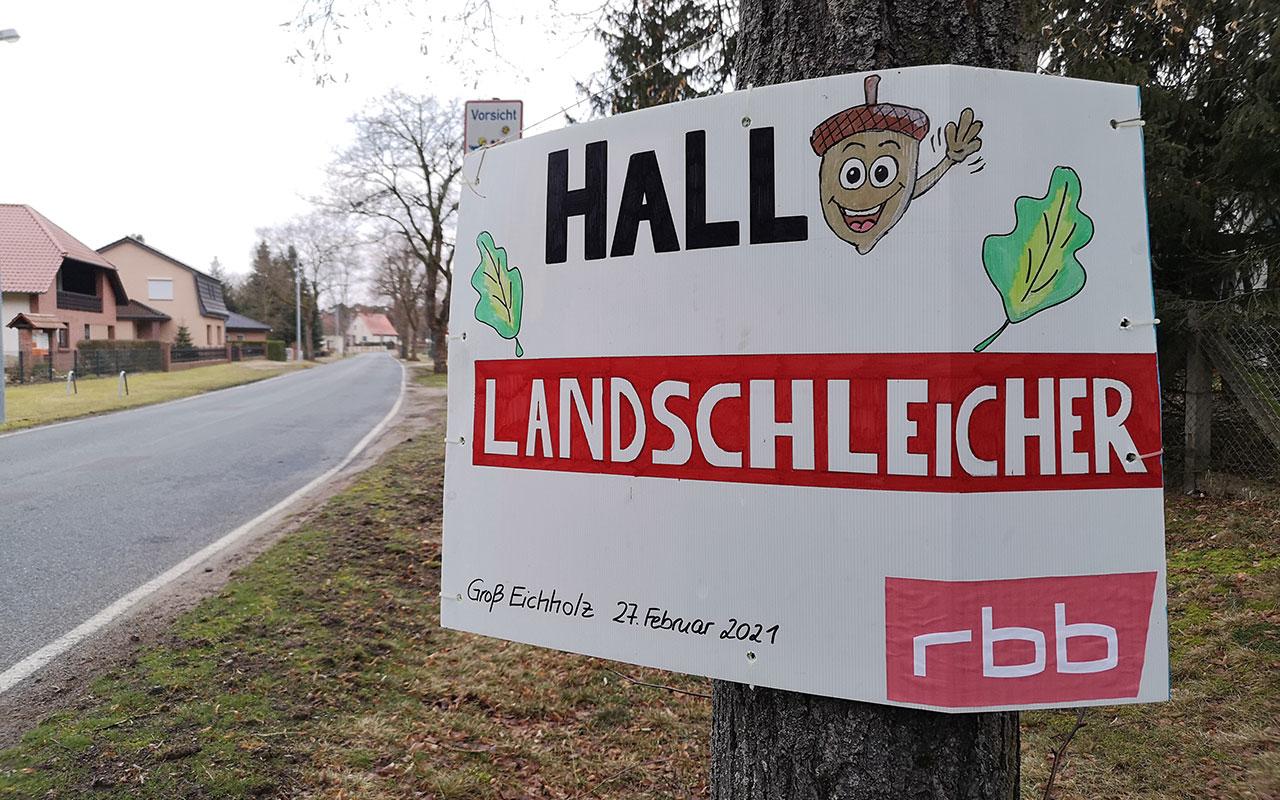 Der rbb-Landschleicher in Groß Eichholz