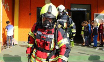 Feuerwehreinsatz im Storkower Horthaus