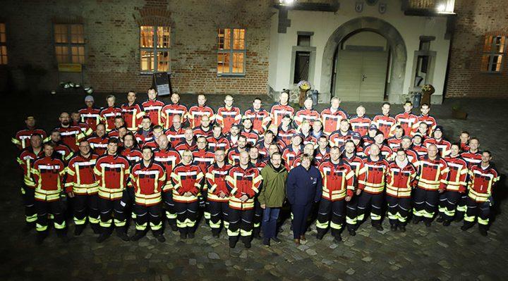Alles auf Rot bei den Storkower Feuerwehren
