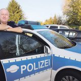 Polizeioberkommissar Andreas Frommholz: ein Mann für alle Fälle