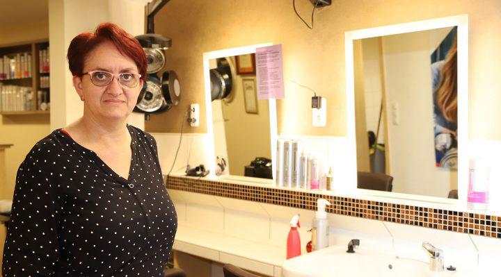 Friseurmeisterin Silvia Wehner: ein Herz für die Jugend!