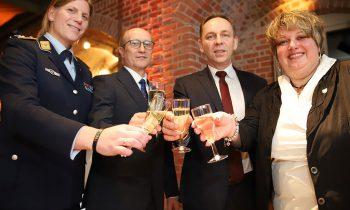 Empfang auf der Burg Storkow: Mit Zuversicht ins neue Jahr