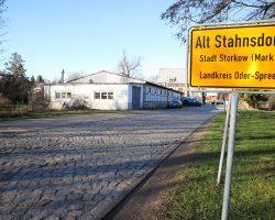 Alt Stahnsdorf: Durchfahrt verboten!