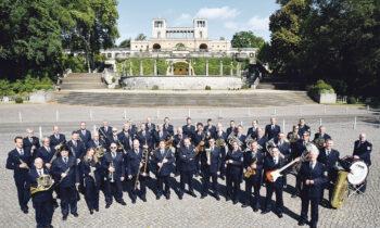 Benefizkonzert mit dem Landespolizeiorchester auf der Burg Storkow