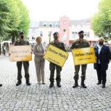 Abschiedsappell: Storkower Soldaten auf dem Weg in einen gefährlichen Einsatz