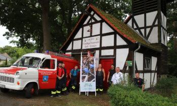 Feuerwehr Groß Schauen: erst ein Sturm, dann ein Dank