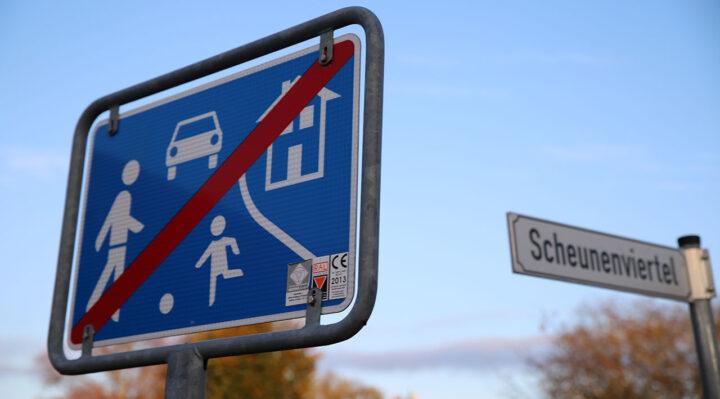 Bislang gab es im Scheunenviertel keinen Spielplatz. Das soll sich nun ändern. Foto: Marcel Gäding
