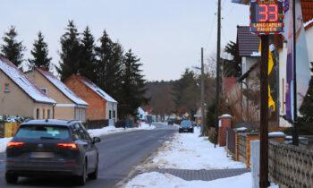 Kummersdorf: Mit 146 Stundenkilometern durch die geschlossene Ortschaft