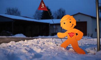 Verkehr in Storkow: Mit Plastikfiguren gegen Raser