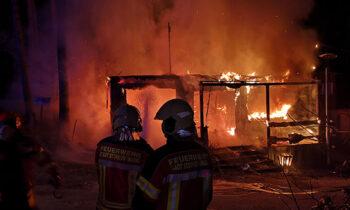 Campingplatz am Springsee: die Verzweiflung nach dem Feuer