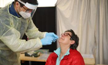 Corona-Testzentrum Storkow: Ehrenamtliche testeten mehr als 1.000-mal