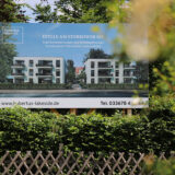 Bauvorhaben in Hubertushöhe: umstrittene Aufbruchstimmung