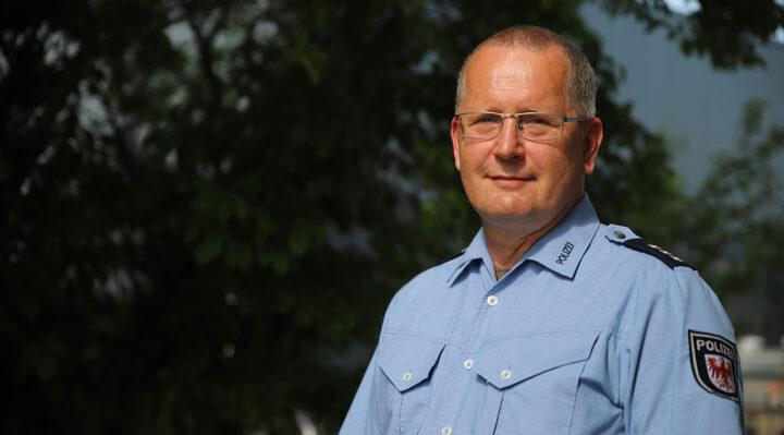 Polizei Storkow (Mark): eine neue Herausforderung für Andreas Grothe