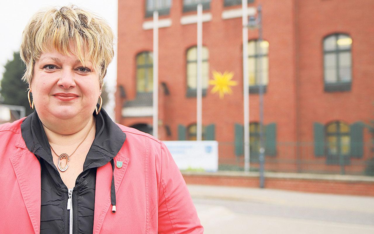 Cornelia Schulze-Ludwig (SPD) ist seit 2011 Bürgermeisterin von Storkow (Mark). Foto: M. Gäding